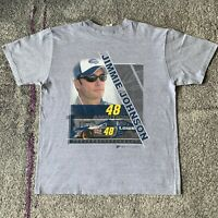 Winners Circle NASCAR Jimmie Johnson Racing Shirt Mens Large