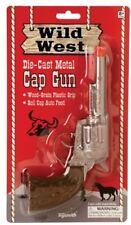 Toysmith Wild West Metal Cap Gun Toy Paper Roll Caps Required
