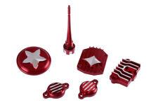 CNC Performance Motordeckel Set Rot f. Lifan Motor Dirt Bike,Pit Bike,ATV,Quad