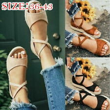 Beach Strappy Flat Sandals for Women