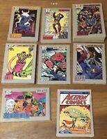 1991 IMPEL DC COMICS SERIES 1 U Pick 3 Cards