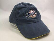 Milwaukee Brewers Hat Faded Blue Strapback MLB Baseball Cap