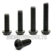 #8-32  Button Head Socket Cap Screws, Alloy Steel Thermal Black Oxide Coarse SAE