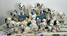 "VTG & Modern LOT 26 Disney 101 Dalmatians Dogs Pups Plush Toys 6"" to 16"" Used"