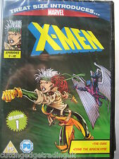 Marvel X-men Season 1 Episodes 9-10 Treat Size DVD. New & Sealed PAL