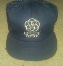 80s Trucker Hat cap Epcot Center Disneyworld Blue Mesh Foam Snapback  Adjustable 70ddeb9f1b08
