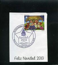 marcofilia>> CHRISTMAS -''FELIZ NAVIDAD'' COLOMBIA 2010