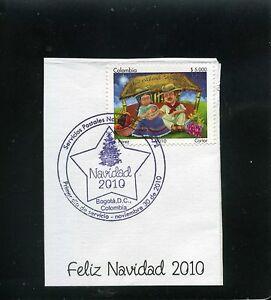marcofilia>> CHRISTMAS -''FELIZ NAVIDAD'',-  COLOMBIA  2010