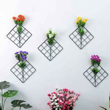 20*20 CM Metal Mesh Grid Panel Decor Photo Wall Hook Art Display Organizer Hot