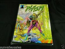 1993 Defiant Plasm Zero Issue Trading Cards Binder w Foil Card 9 Splatterball