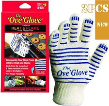 New listing 1Pair#Ove Gloves Microwave Oven Gloves Protective Gloves Non-slip Thick Mitts
