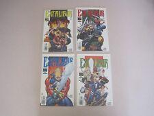 Marvel Comics Excalibur #1-4 Complete Series VFN/NM VT