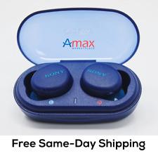 Sony WF-XB700 True Wireless Earbuds with EXTRA BASS (Blue)