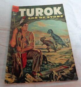 Turok Son of Stone Dell Comics No. 596 1954 Comic Book