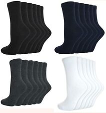 Childrens Unisex School Socks 4 different colours and multiple sizes available