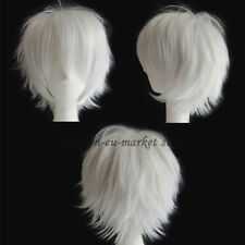 Unisex Cosplay Hair Wig Short Halloween Fashion Anime Party Fancy Style Hair Wig