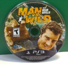 Man vs. Wild With Bear Grylls (Sony PlayStation 3, 2011) DISC ONLY 13365