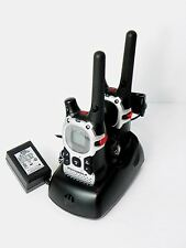 Set of 2 Motorola MJ270 MJ430 FRS GMRS 2-WAY Radio Walkie Talkie AA Weather VOX