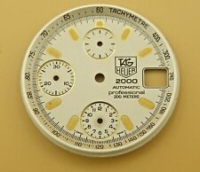 DIAL for TAG HEUER super 2000 series auto chronograph #CE2120 165.806. Parts