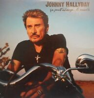 JOHNNY HALLYDAY : CA PEUT CHANGER LE MONDE - [ PROMO CD SINGLE ]