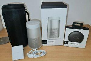 Bose Soundlink Revolve With Charging Cradle & Travel Case