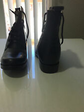31/2 INCHES HEIGHT ENHANCING HANDMADE ELEVATOR MEN'S SHOE / BOOTS (ITALY)