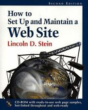 How to Set-Up and Maintain a Web Site 2nd Edition