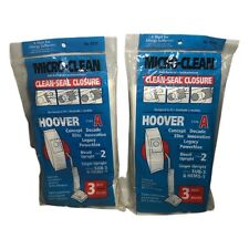 Lot of 6 Micro-Clean Hoover Type A Bissell Style 2 Singer Upright Vacuum Bags