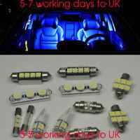 For Toyota Auris 8pcs Lights LED Interior Premium Kit SMD Bulb Blue Error Free