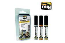 AMMO OF MIG A.MIG-7506 Oilbrusher Set Light Fading 10ml