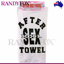 NEW PipeDream Adult Novelty After Sex Towel