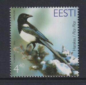 Estonia - 2003, 4f40 Magpie, Bird stamp - MNH - SG 439