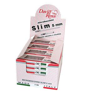 240 Microbocchini David Ross Slim 5 mm per Sigaretta 24 astucci 1 Box