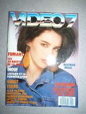Magazine revue VIDEO 7 #66 avril 1987 Beatrice Dalle