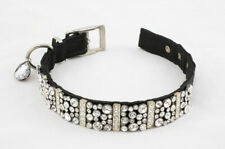 Hand-Crafted Dog Collar With Swarovski Crystals - Made by Twisted Cow