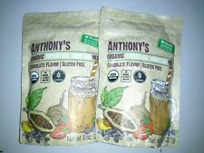 Anthony's Organic Superfood Chia Seed Cocoa Chocolate Smoothie Mix 16 oz 454 g