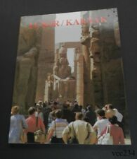 Souvenir of Luxor/Karnak-English/French/German Text-Egypt-1991-Illustrated