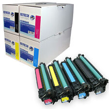 REFRESH CARTRIDGES #504A CE250X/1X/2X/3X TONER COMPATIBLE WITH HP PRINTERS