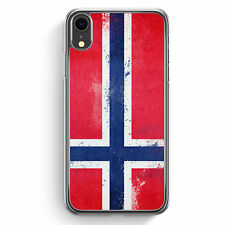 Norwegen Grunge Norway Norge iPhone XR Hülle Cover Hard Case Handyhülle Schut...