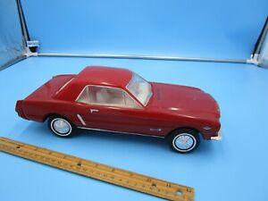 Vintage Beam's Bourbon 1964 Red Mustang Porcelain Decanter