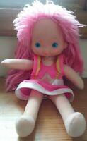 Vintage Hallmark Mattel 1983 Rainbow Brite Dress-Up Tickled Pink Doll