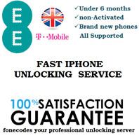 100% SUCCESS Unlocking EE / Orange UK IPHONE  XR XS XS max NEW & under 6 month