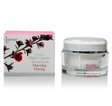 Lanocreme Reviving Night Cream 50g w Manuka Honey, Argan, Almond Oils Kiwifruit