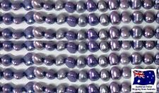 Freshwater Pearls 4mm - Purple - approx 76 pearls