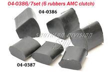 Norton Amc pochette namaycush rubber set of 6 Dominator 04-0386 04-0387 a2/388 a2/389