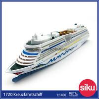 Siku Super 1720 1:1400 Kreuzfahrtschiff AIDAluna Cruiseliner Diecast Model Ships
