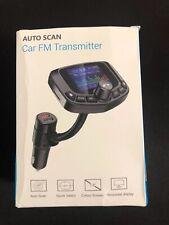Auto Scan Car FM transmitter  Wireless Bluetooth