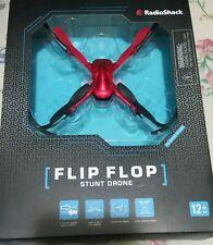 RadioShack Flip Flop Stunt Drone 6001438 Red