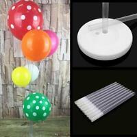 3pcs Plastic Balloon Arch Column Stand Base Kits Wedding Birthday Party Decor