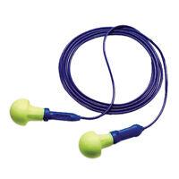 3M 318-1001 E-A-R Push-Ins Corded Ear Plugs 100/Box * Free US Shipping *